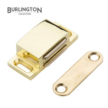 The Burlington Collection Electro Brass Steel Magnetic Catch Product </br>Code: P-F06-806 - Woodliving