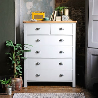 Chest Of Drawers 2+4 - Woodliving