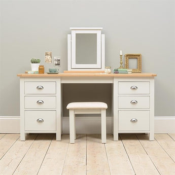 Dressing Table Double Ped - Woodliving