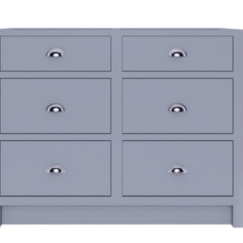 Base Cabinets With 6 Draws Double drawers - Woodliving