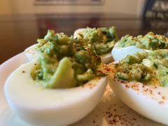 Guacamole Deviled Eggs - A Twist on the Traditional
