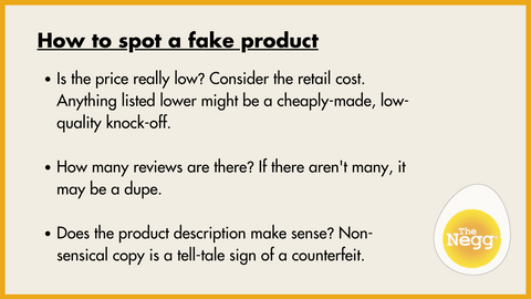 3 Simple tricks to find authentic products