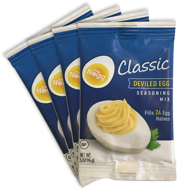 Negg® CLASSIC Deviled Egg Seasoning Four Pack