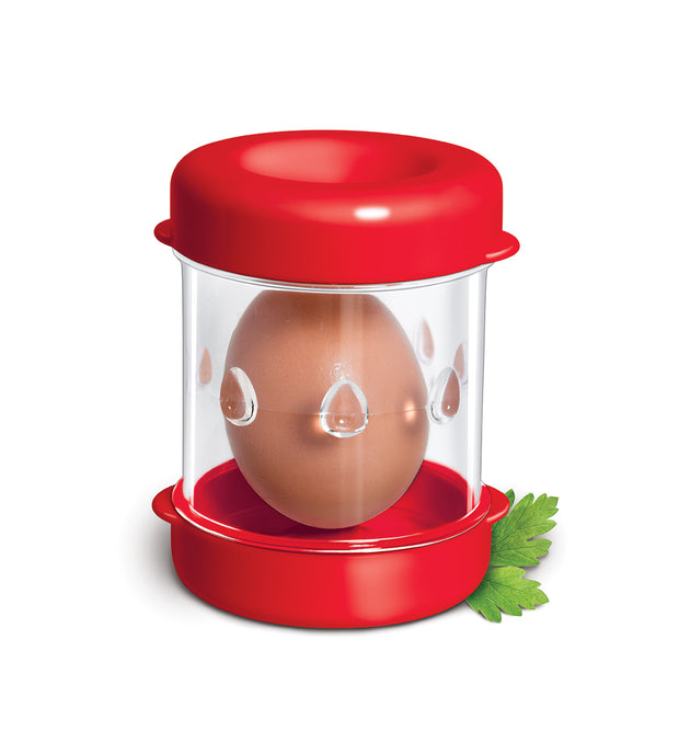 Negg Egg Peeler-Red - hard boiled egg peeler
