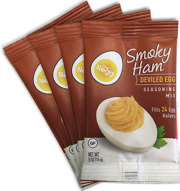Negg® SMOKY HAM Deviled Egg Seasoning Mix Four Pack