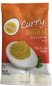 Negg® CURRY Deviled Egg Seasoning Mix Four Pack