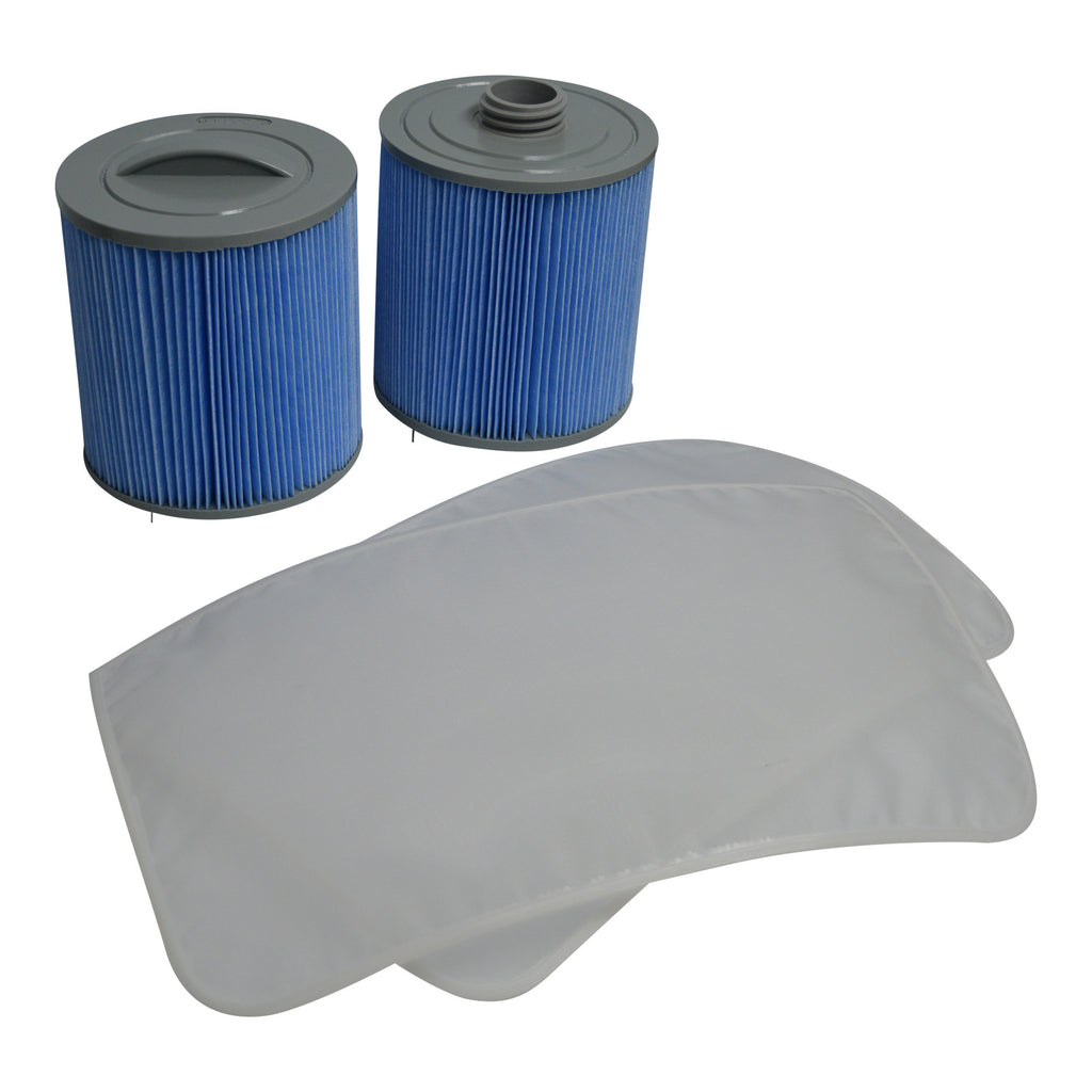 Glacier Microban 100 Sq Ft Filter Set