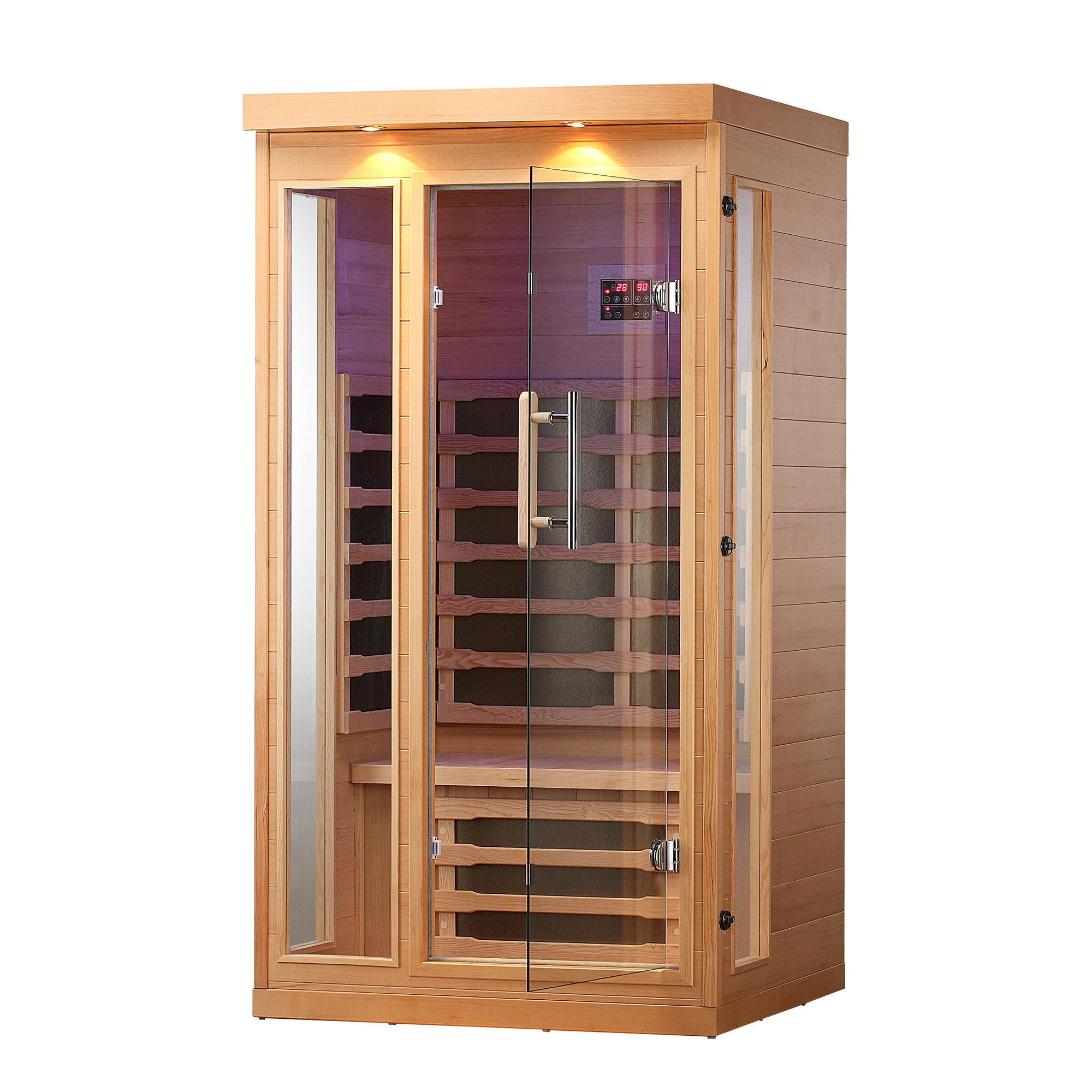chilliwack 1 person far infrared sauna canadian spa company us. Black Bedroom Furniture Sets. Home Design Ideas