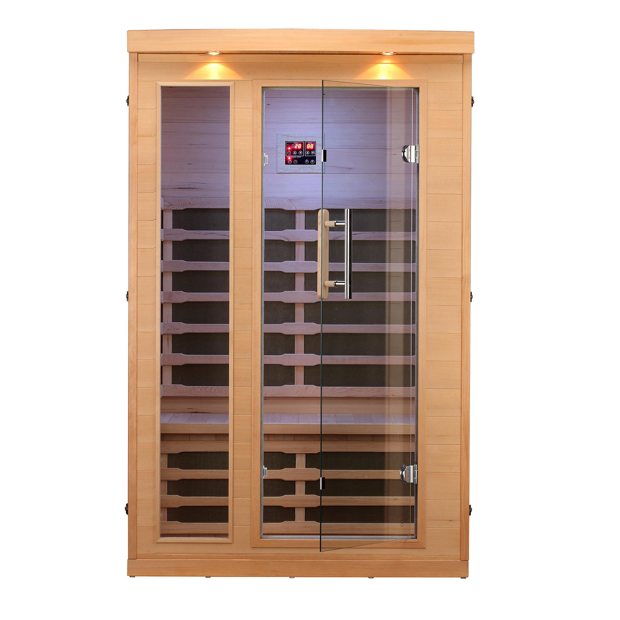 huron 2 person far infrared sauna canadian spa company us. Black Bedroom Furniture Sets. Home Design Ideas