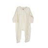 Footed Romper | Off White
