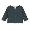Baby Fleece Cardigan Gray Label