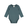 Long Sleeved Bodysuit | Blue Gray