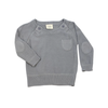 Fine Knit Sweater - Grey - Fallowfield Kids