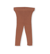 Ribbed Leggings | Terracotta Rose