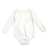 Natural Fine Knit Bodysuit - Fallowfield Kids