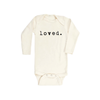 Loved Long Sleeve Bodysuit - Fallowfield Kids