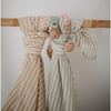 Swaddle | Natural Stripe