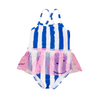 Blue Stripes Swimsuit - Fallowfield Kids