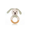 Organic Ring Rattle | Bunny - Fallowfield Kids