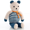 Organic Bear I Petrol Blue - Fallowfield Kids