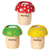Mushroom Kaleidoscope | Red, Yellow, Green
