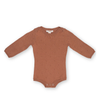 Pointelle Bodysuit | Terracotta Rose