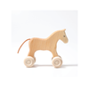 Small Wooden Horse - Fallowfield Kids