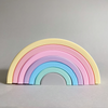 Silicone Rainbow Stacker | Pastel