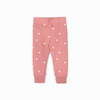 Rose Polka Dot Cruz Jogger - Fallowfield Kids