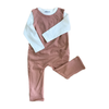 Reversible Jumpsuit | Sandstone - Fallowfield Kids