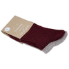 Socks 2-pk | Burgundy Earth - Fallowfield Kids