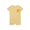 Mustard Striped Jumpsuit - Fallowfield Kids