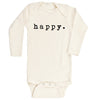 Happy Long Sleeve Bodysuit
