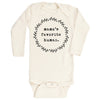 Mama's Favorite Human Long Sleeve Bodysuit