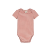 Faded Red Short Sleeve Bodysuit - Fallowfield Kids
