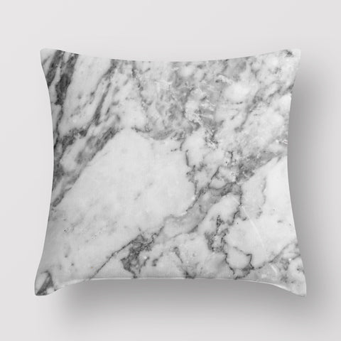 Minimalist Marble Pillow