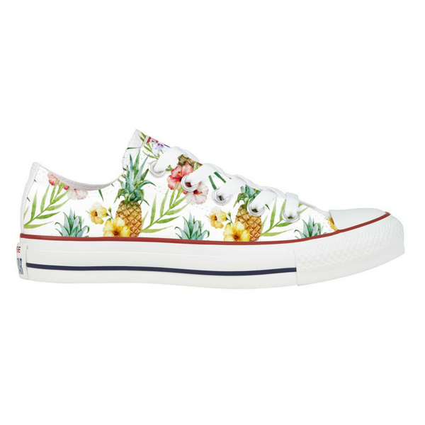Lavish Luau Converse Low Top