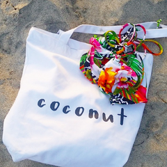 Going Coconuts Canvas Tote