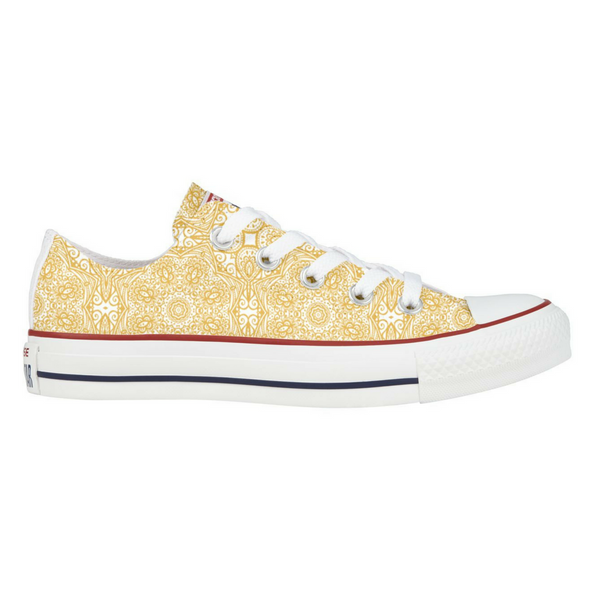 Hidden Henna Converse Low Top