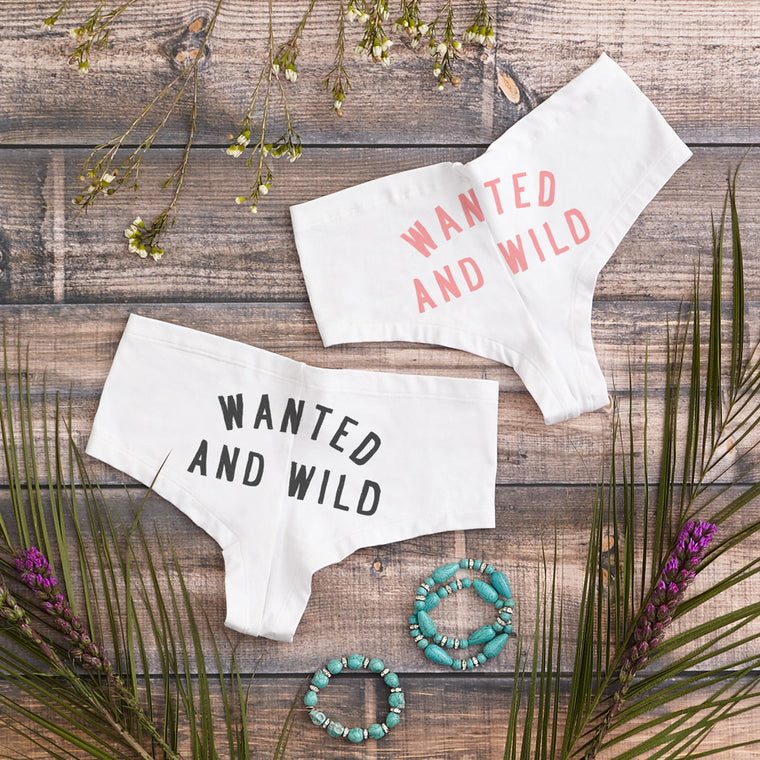 Wanted And Wild Boy Short