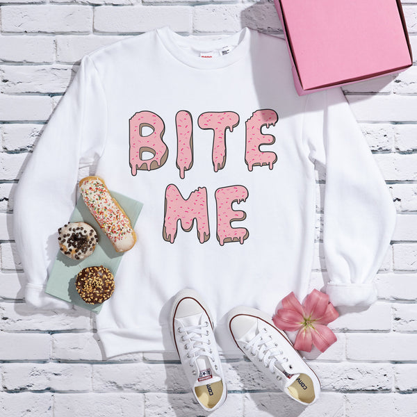 Bite Me Flex Fleece Crewneck Pullover