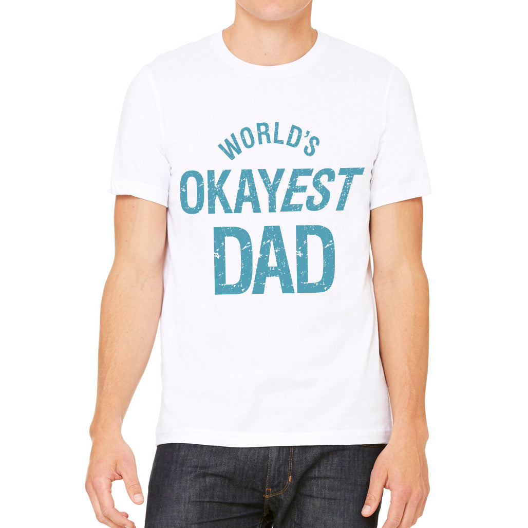 World's Okayest Dad Oversized Tee