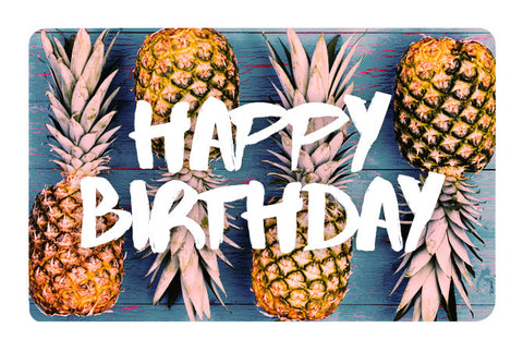 Pineapple Birthday E-Gift Card
