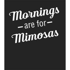 Mornings are for Mimosas Oversized Baseball Tee