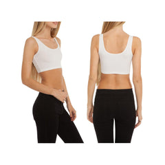 Dos Piñas Cotton Spandex Crop Tank