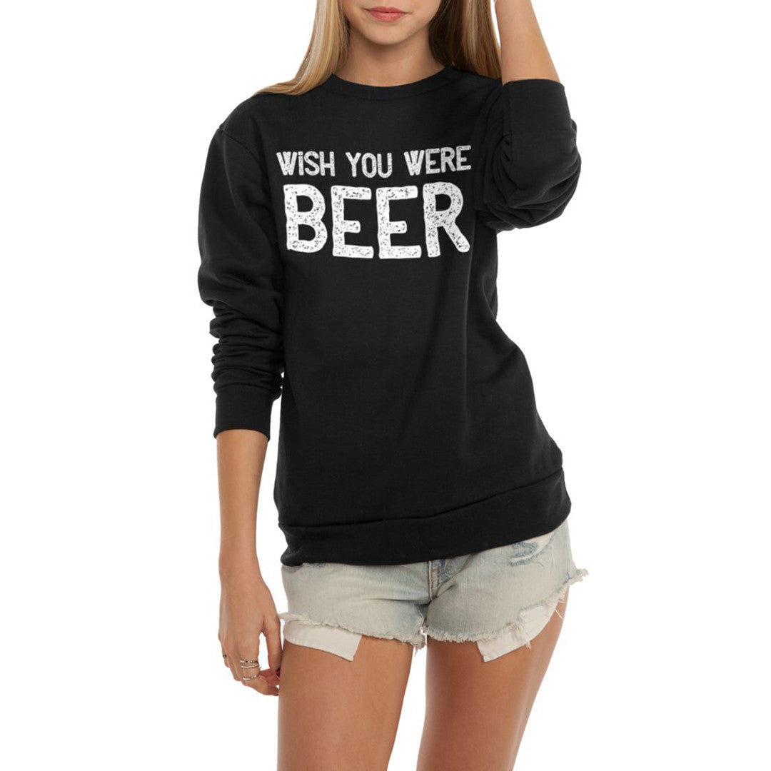 Wish You Were Beer Flex Fleece Crewneck Pullover