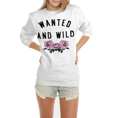 Wanted And Wild Flex Fleece Crewneck Pullover