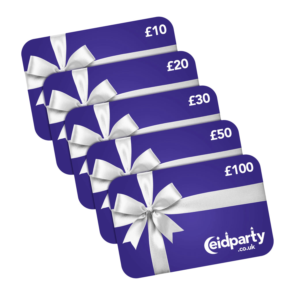 Eid Party Gift Cards