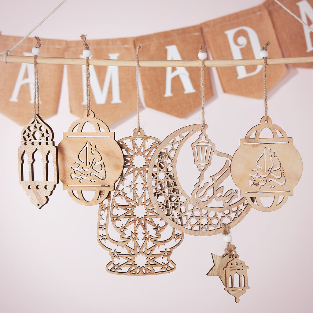 Wooden Hanging Decorations