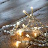 1.2m / 10 LED Warm White Eid / Ramadan Battery Powered Fairy Lights